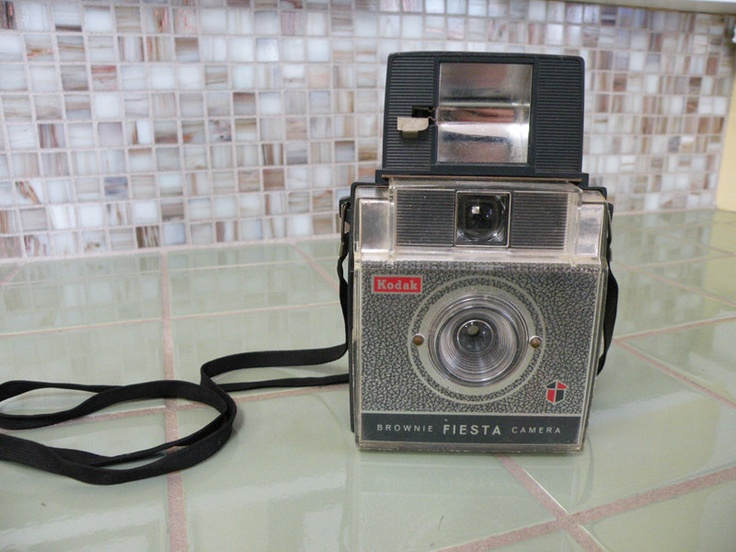 Brownie Fiesta Camera Kodak With Flash. $12.00, via Etsy.