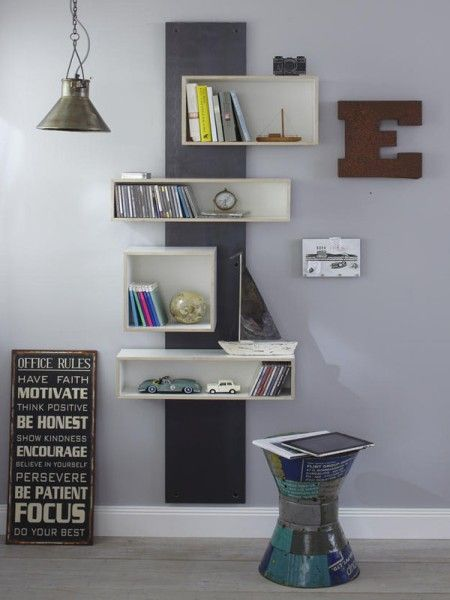A shelf build yourself - here are 13 ideas