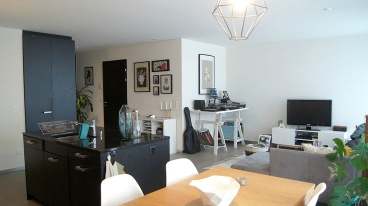 Zentral gelegene 3.5 Zimmer Wohnung in Schlieren zu vermieten.