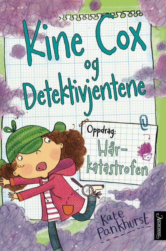 Tidenes «bad hair day» - men Kine Cox ordner opp! Spennende og veldig morsom detektivdagbok!