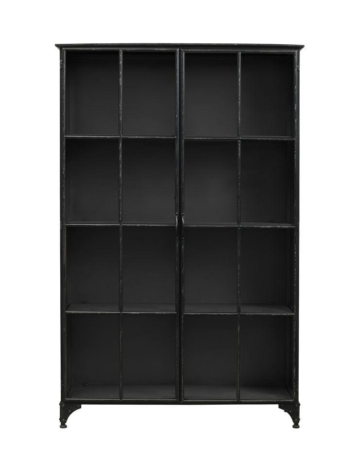Downtown iron cabinett - Black från Nordal hos ConfidentLiving.se
