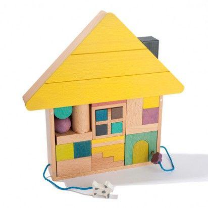 """""""I like that because it's a house. I like houses. Do you know what I like better than houses? TRAINS."""" #mazzyspins"""