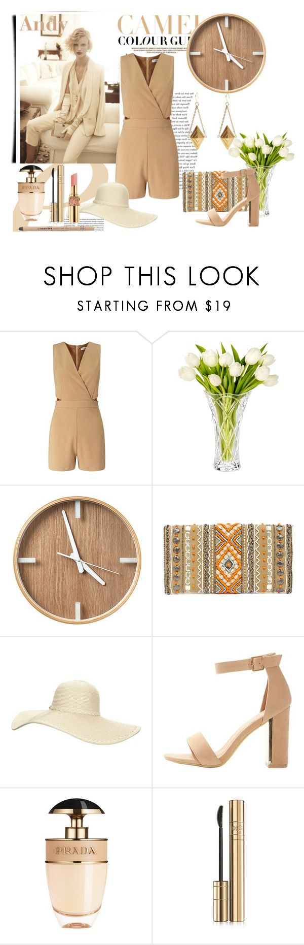 """""""Keep it simple!!"""" by andyts ❤ liked on Polyvore featuring Zara, Miss Selfridge, Marquis by Waterford, LULUS, Reger by Janet Reger, Yves Saint Laurent, Prada, Dolce&Gabbana and Rimmel"""