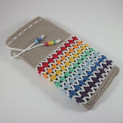 Make a Cute Crochet Phone Case