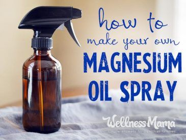 How to make your own magnesium oil spray