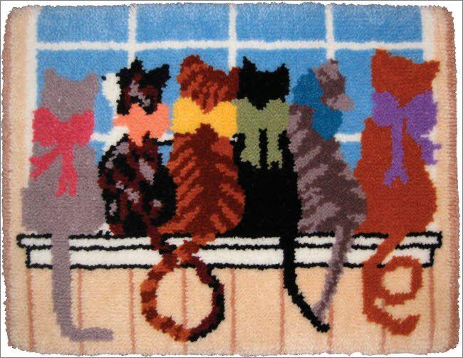 31 Best Latch Hook Images On Pinterest Crocheting Haken