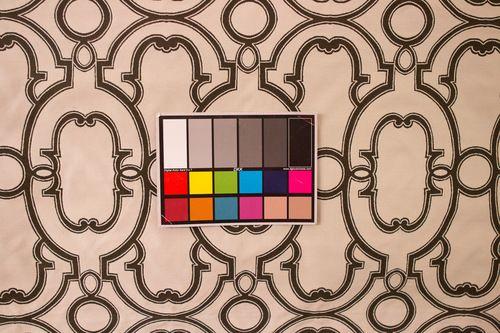 "54"" Espresso Brown and White Trellis Contemporary Upholstery Fabric - fabricwarehouse.com"