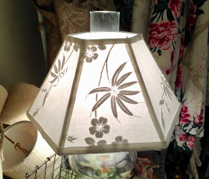 Embroidery uno lamp shade threaded bridge lampshade 7 x 12 x 8 embroidery uno lamp shade threaded bridge lampshade 7 x 12 x 8 high lampshades floor lamp and linens aloadofball Choice Image