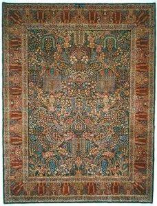 Дерахти. Персидский ковер с изображением древа жизни.