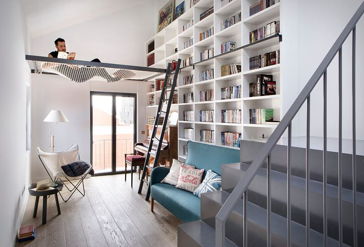 Designed by Egue Y Seta, this inspiring apartment is located in Madrid, Spain