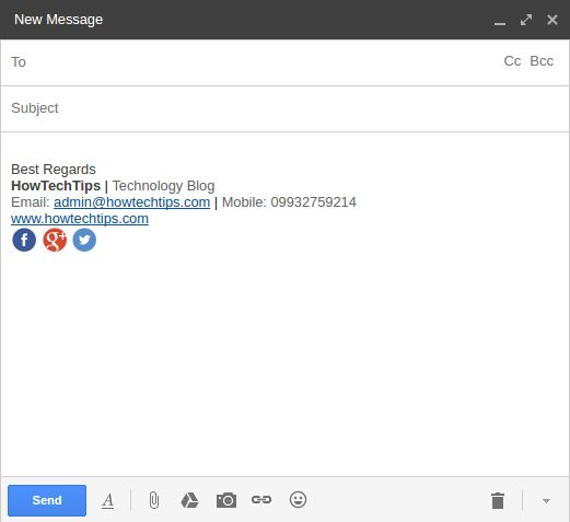 Setup Email Signature in Gmail - Step-by-step instructions on how to add a signature to Gmail messages. Create signature and insert images in Gmail signature.