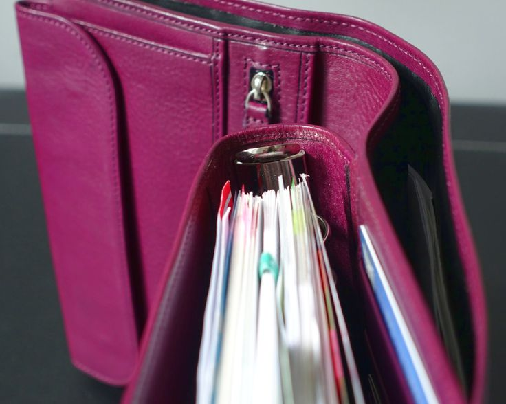 Gillio Medium Mia Cara Epoca Purple- full length back pocket
