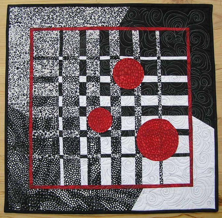 Eine kleine Zusammenstellung einiger meiner Quilts   Mein erster größerer Quilt     Sternenquilt aus Westfalenstoffen       Schwarz, weiß u...