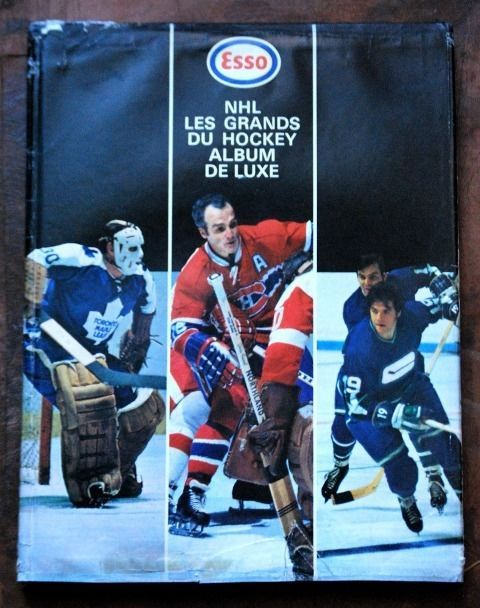 1970 71 Esso NHL Lesgrands DU Hockey Album Deluxe Complete 252 SET W Dustcover | eBay