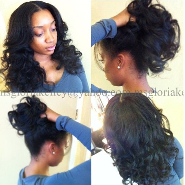Excellent 1000 Images About Weave Sew Ins Hairstyles On Pinterest Sew Ins Short Hairstyles For Black Women Fulllsitofus