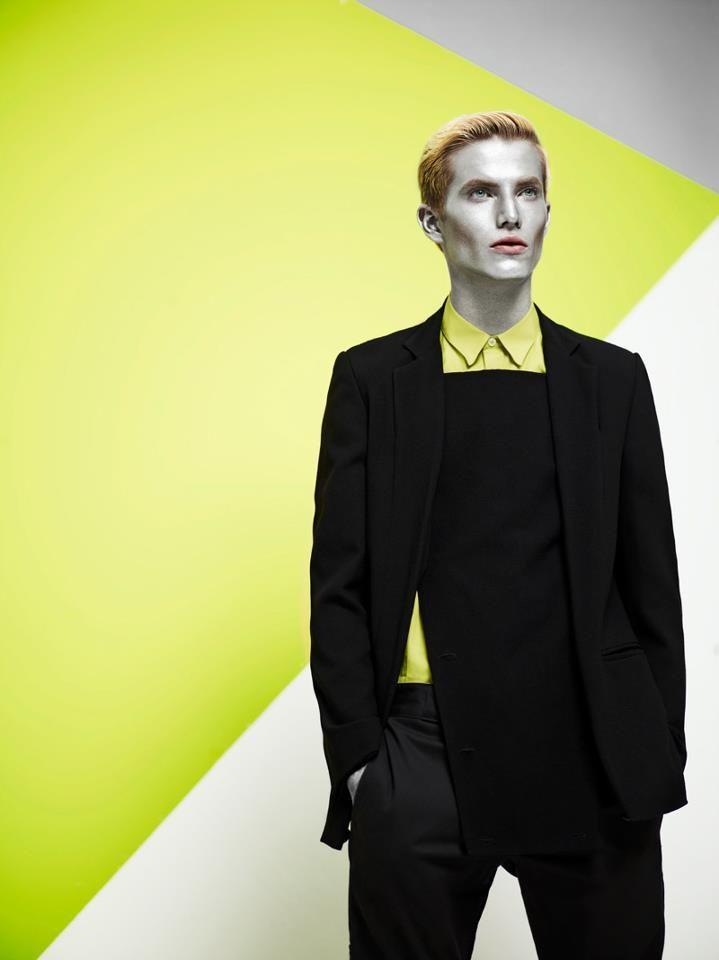 Exclusive editorial on FUCKING YOUNG! featuring a blazer by STEFANO LO MUZIO with fading lapel and panel.  http://fuckingyoung.es/conor-by-annamattia/  Photography: Anna Montesi & Mattia Mirandola Styling: Anna Velardi Make Up: Kassandra Frua De Angeli Hair: Pawel Solis Model: Conor McLain @Fashion