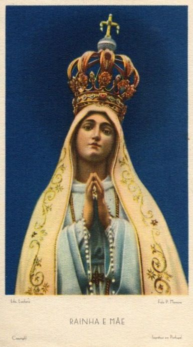 A 1930s devotional image from the shrine of Our Lady of ...