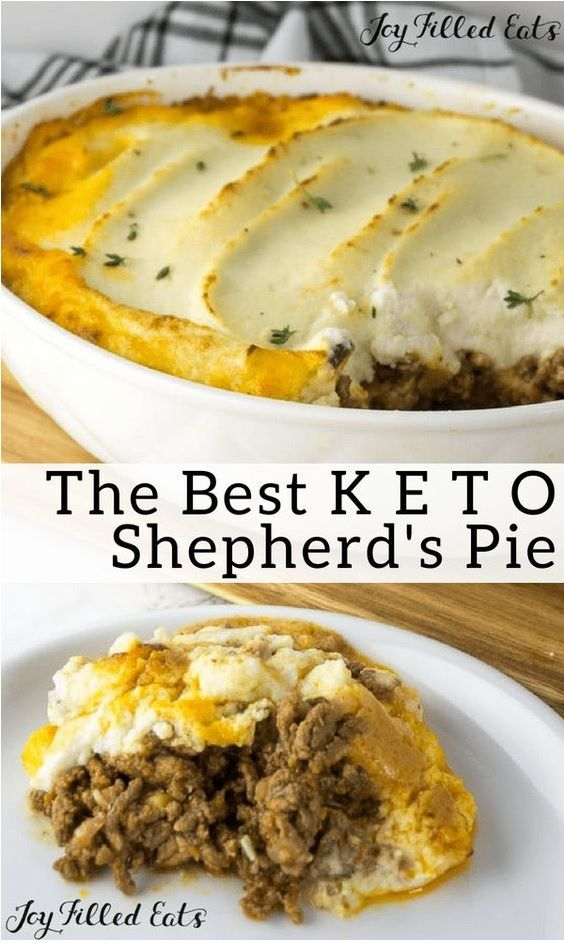 Shepherds Pie mit Rezept Blumenkohl Topping – Food Restock