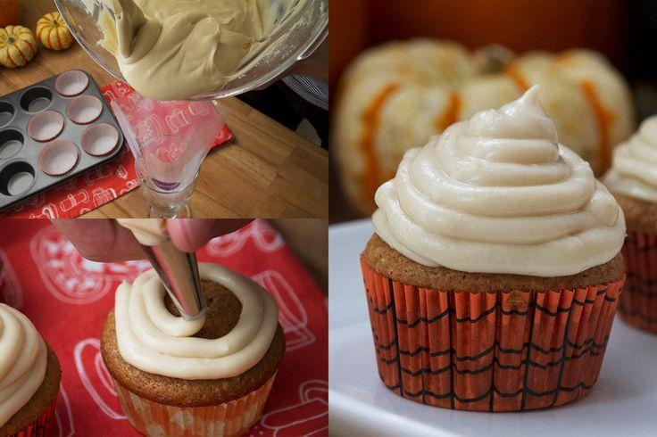 glacage cupcake halloween