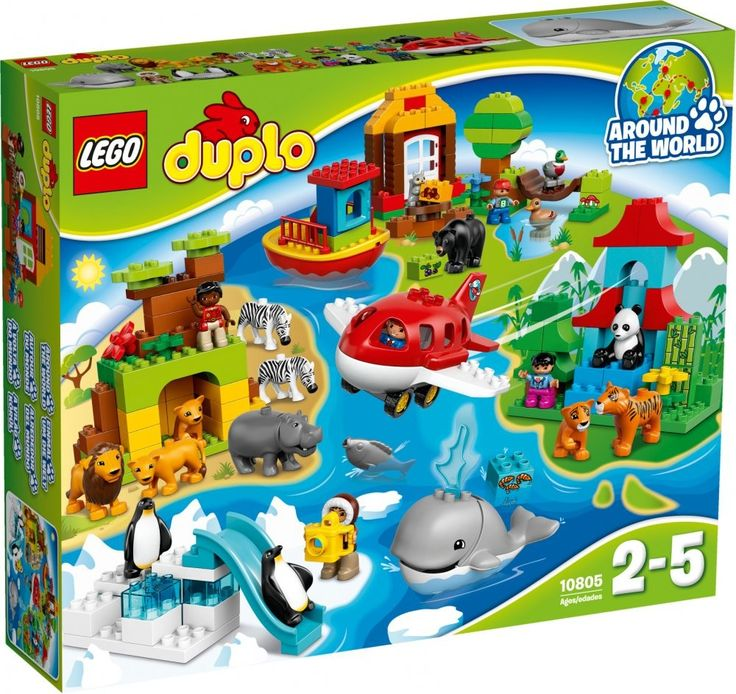 Lego Duplo 10805 Cesta kolem světa - 0