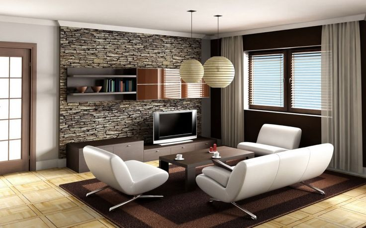 luxury living home decoration idea
