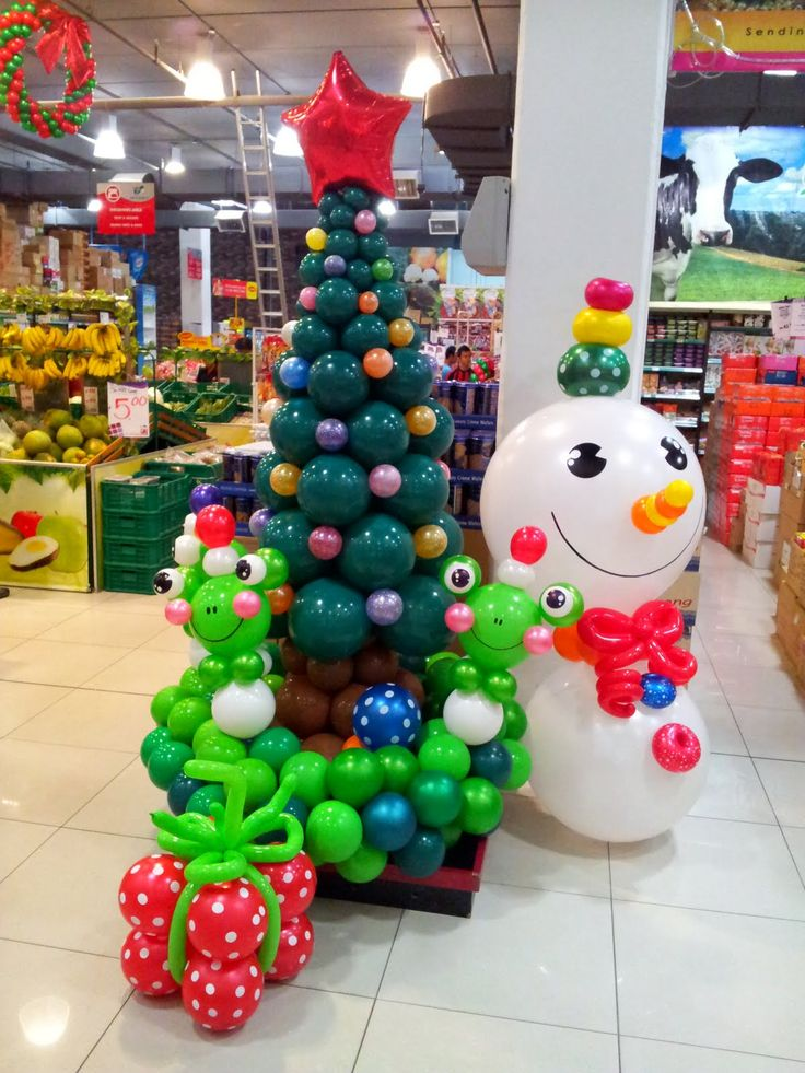 Christmas+Balloon+Decoration+Gallery | Balloon decorations for weddings, birthday parties, balloon