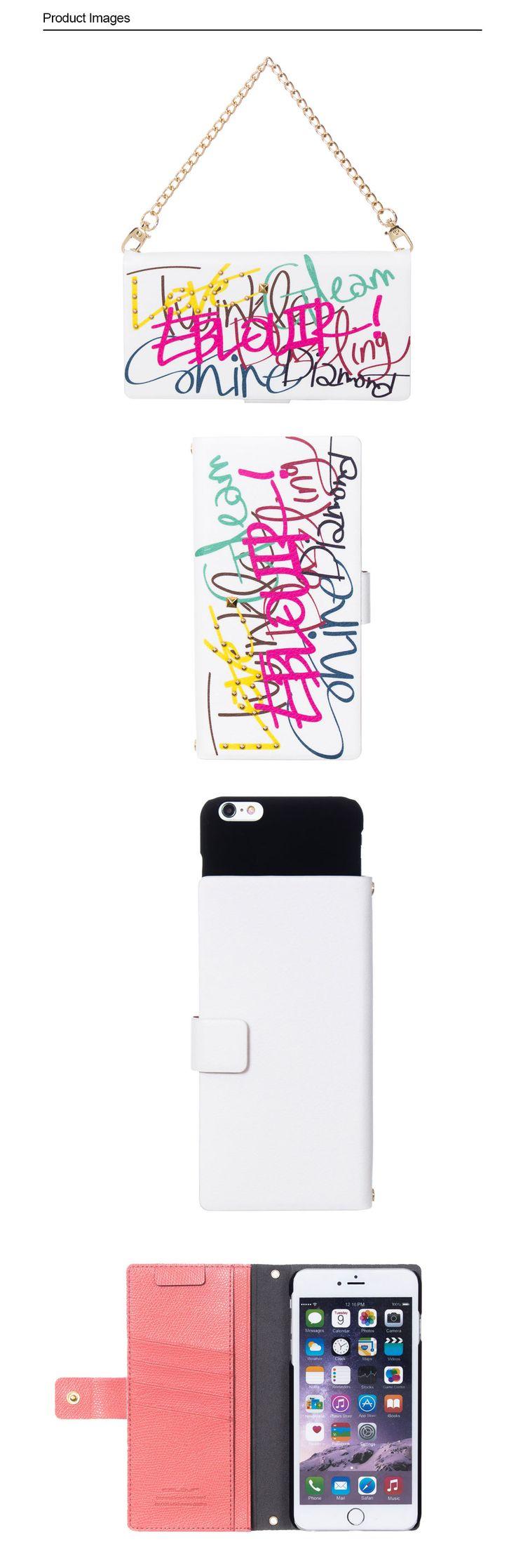 :: EBLOUIR ::Lettering folio #eblouir, #iphonecase, #phonecase, #iphone, #iphone6, #iphone6s, #plus #style, #accessories, #best, #protective, #design, #mobile, #life