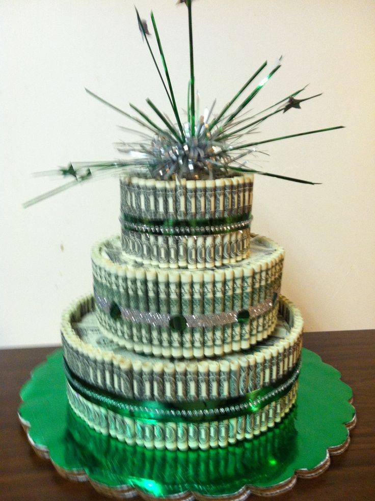 dollar bill cake - photo #1