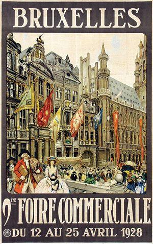 Bruxelles / Fernand Toussaint