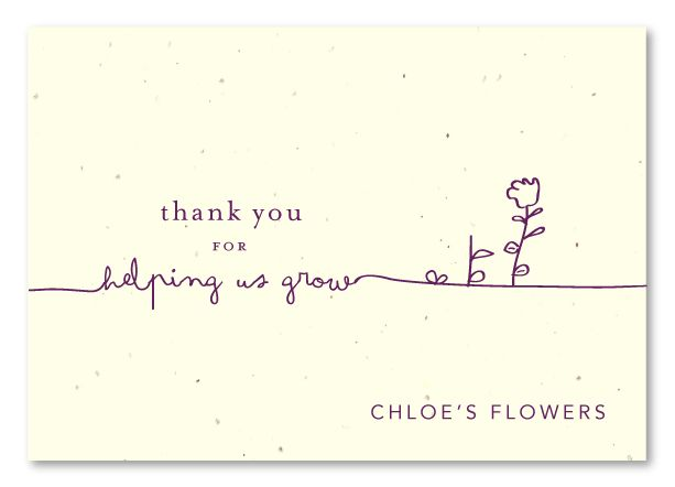 Business Thank You Card  BesikEightyCo