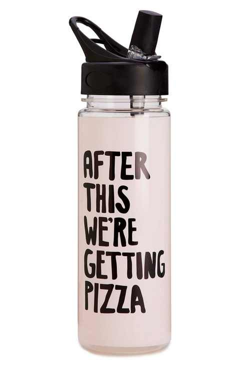 ban.do 'After This, We're Getting Pizza' Water Bottle