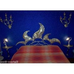 Wrought iron bed. Customize Realizations. 970