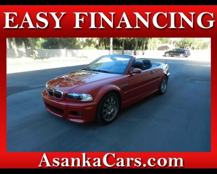 2003 BMW M3 M 3 CONVERTIBLE EASY FINANCING FOR ALL CREDIT, http://www.localautos.co/for-sale-used-2003-bmw-m3-m-3-convertible-sarasota-florida_vid_503210.html