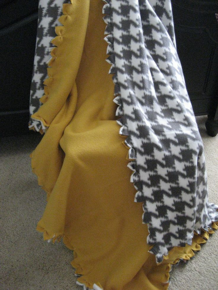 No Tie Fleece Blanket 3 Options For Popular Two Sided
