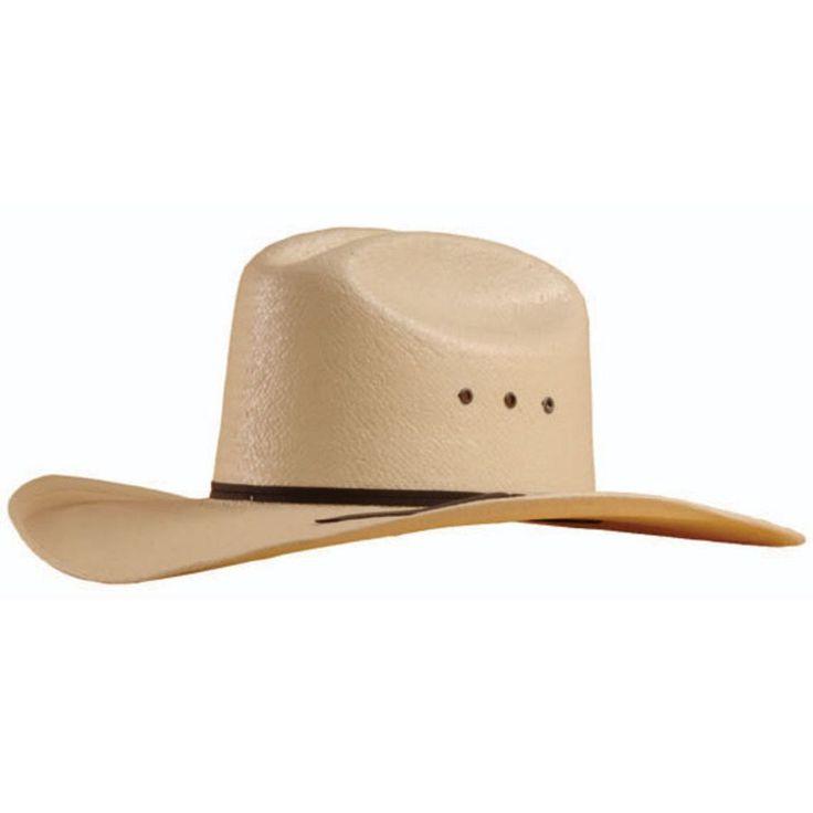 Cappello Lakota superiore in paglia rigido
