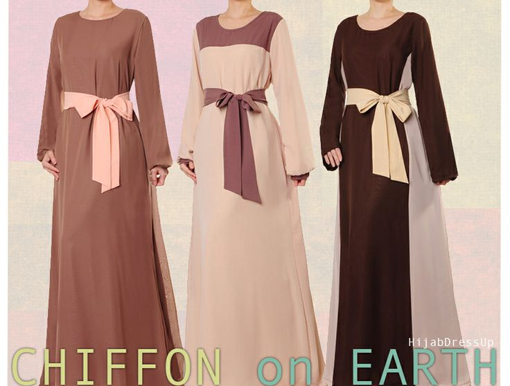 Hijab Dress Up #Chiffon