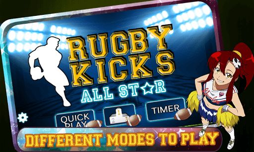 Rugby Free Kicks, is Rugby Sports Game. You have to flick the ball by swiping on the screen and hot the star to score more. You have limited number of chances; if you hit the star you will get more points and didn't lose your chance. If you miss the star , you will lose your chance . Hit the start three times continuously to get the bonus kick.   Hit more and score more and compete with others. Start the competition of your favorite RUGBY GAME<...