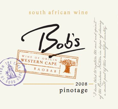 I love this wine label by Bob's