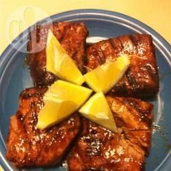 Photo de recette : Steaks de thon marinés, grillés
