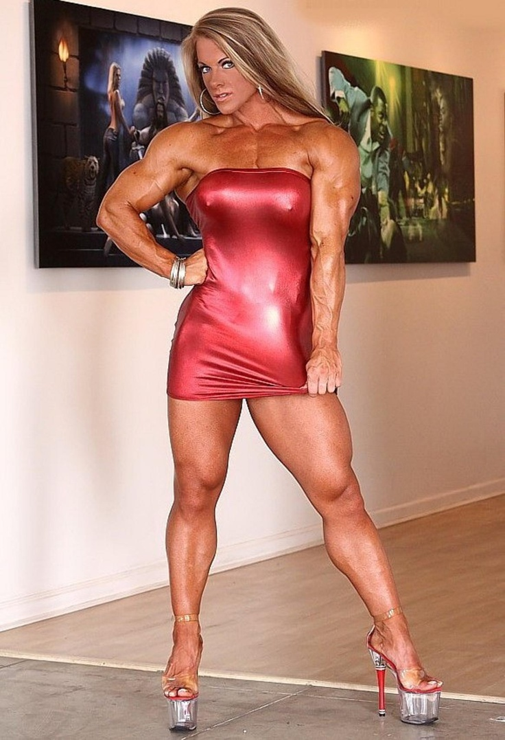 Muscle girl pussy solo you