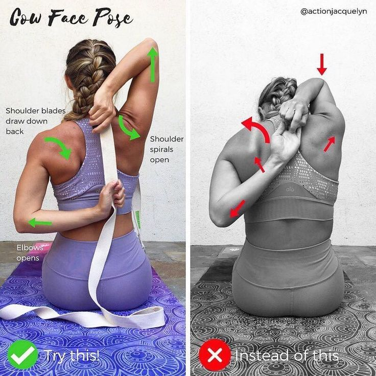 """2,045 Likes, 20 Comments - Y.T (@yoga.tutorials) on Instagram: """"@actionjacquelyn on Cow Face Pose Modification ・・・ ✨ How to Modify COW FACE POSE, or Gomukhasana…"""""""