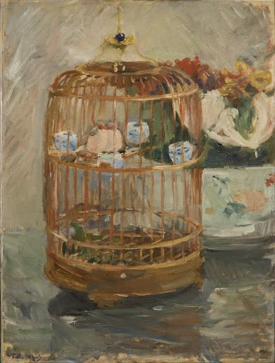 The Cage Berthe Morisot1885/1885