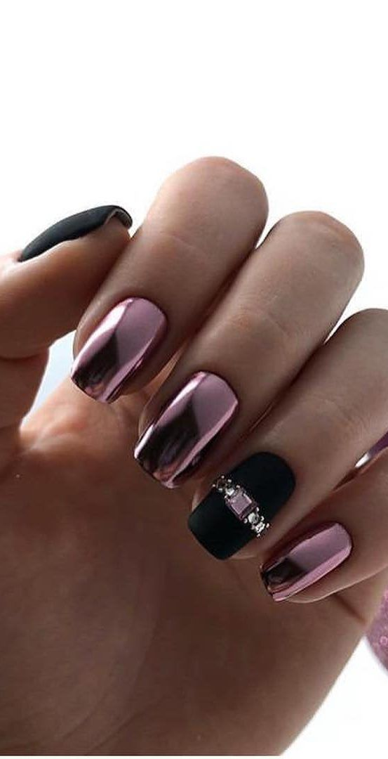 #coffinnails 50+ Coffin Nails Designs Trends Nail Art Ideas 2019 – Page 6 of 58