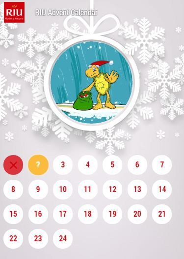 Try your luck with our Advent Calendar - free stays at our hotels any many other fantastic prizes!