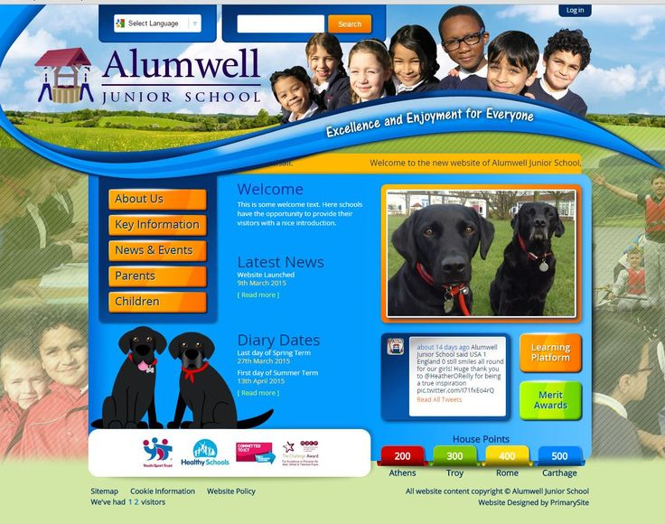 http://www.alumwelljuniorschool.co.uk/ by https://primarysite.net/