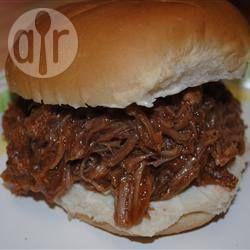 Photo de recette : Porc à la mijoteuse pour sandwiches