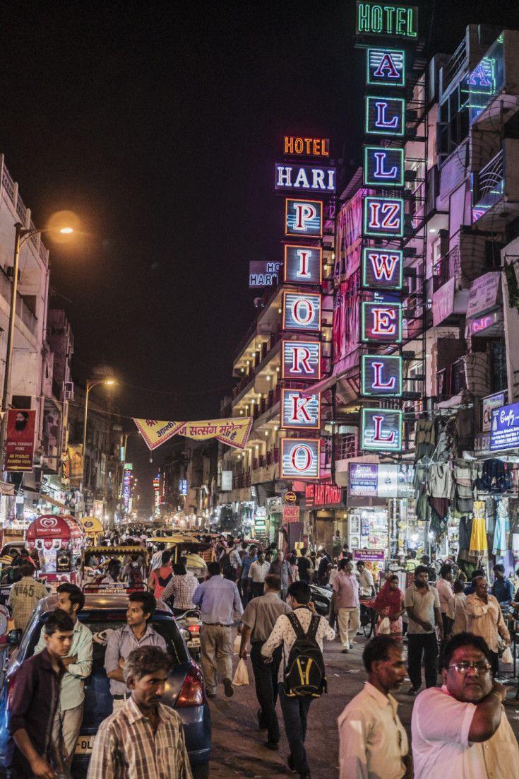 Main street, Paharganj, New Delhi