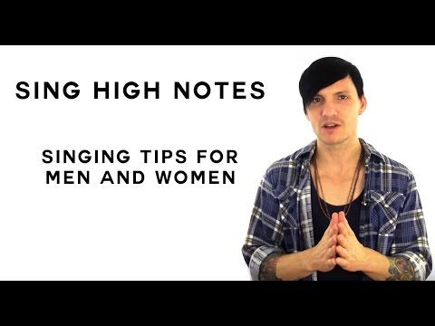 Singing Tips To Help You DiscoverHow To Sing High Notes One of the very best singing tips you can find out is ways to sing greater or hit higher notes without vocal stress, splitting, or breaking. Nevertheless, most singers are uncertain where to learn this appropriately. In this singing ideas video Aaron Anastasi, expert vocal instructor, reveals you a workout to help you discover how to sing high notes.