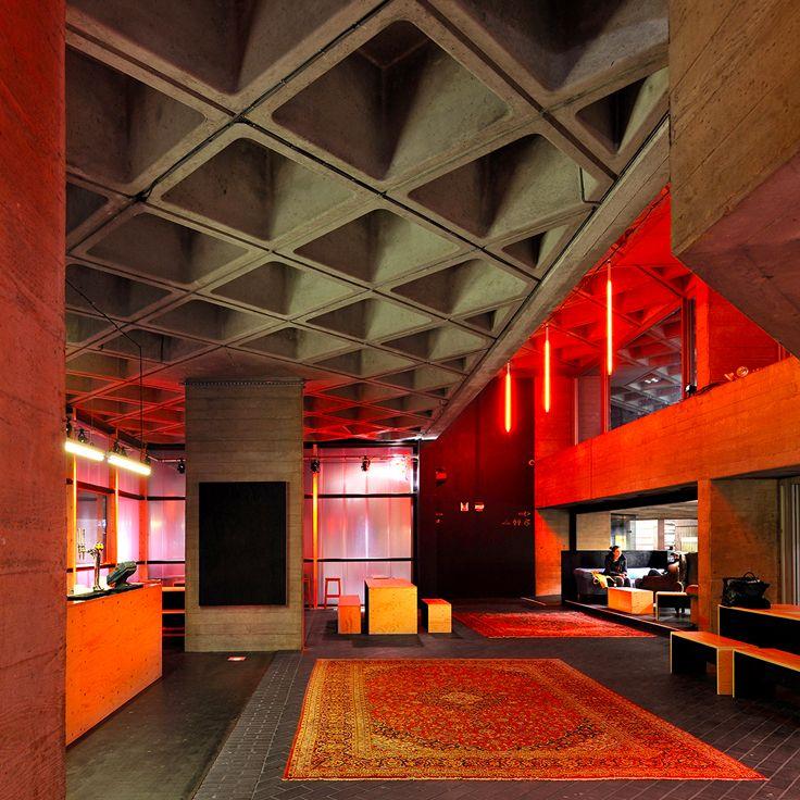 Beautiful Denys Lasdun   Royal National Theatre (1976, London) · Temporary  ArchitectureArchitecture Interior DesignTemporary ...