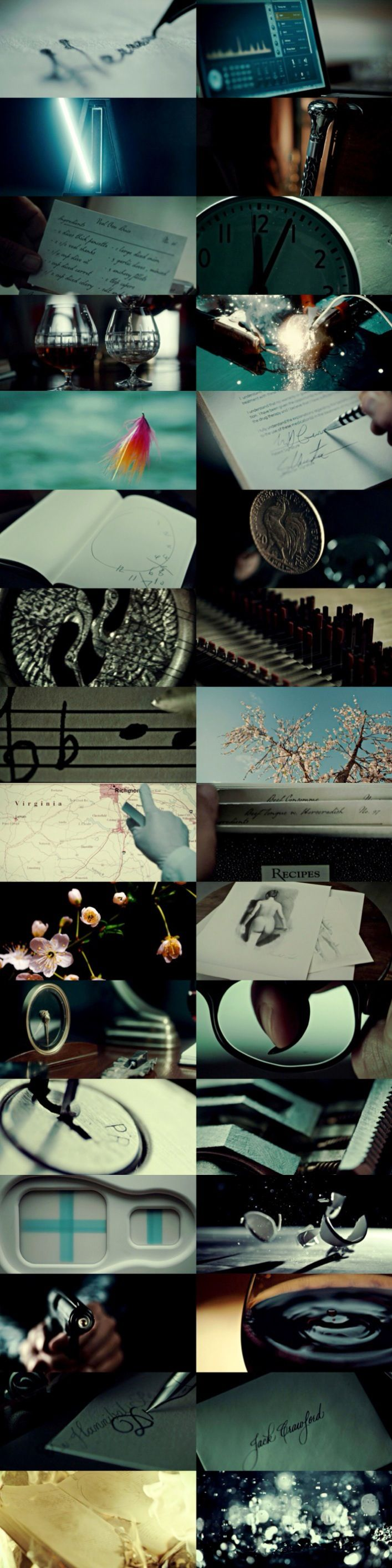 Hannibal Season 2 + Beautiful Details